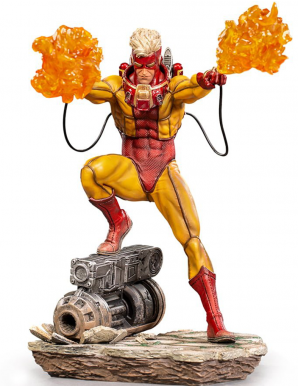 Marvel Comics statuette 1/10 BDS Art Scale Pyro...