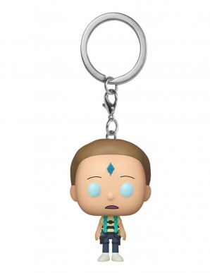 Rick and Morty key ring...