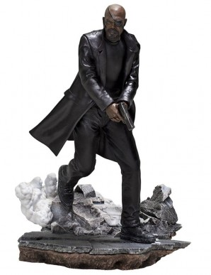 Spider-Man: Far From Home statuette BDS Art Scale Deluxe 1/10 Nick Fury 20 cm