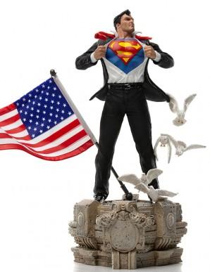 DC Comics statuette 1/10 Deluxe Art Scale Clark...