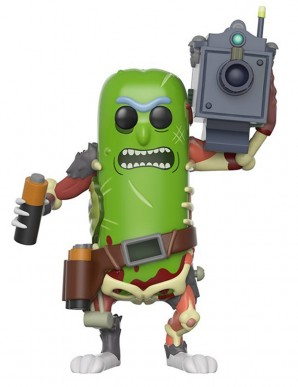 Pickle Rick with laser - Rick et Morty Figurine...