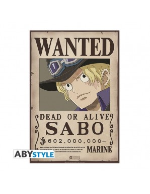 """One Piece - poster """"WANTED SABO"""""""