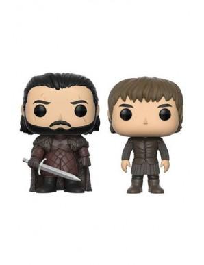 The Iron Throne 2 pack POP! Vinyl figurines Jon...