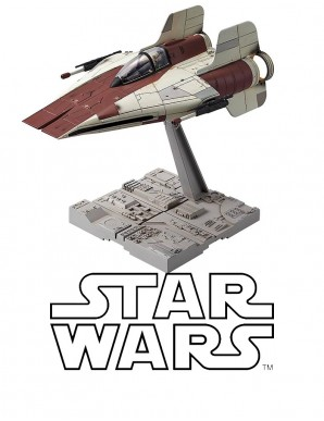 Star Wars maquette 1/72 A-Wing Starfighter 10 cm