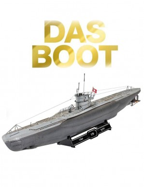 Das Boot kit complet maquette 1/144 U-Boot U96...