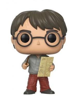 Harry Potter POP! Movies Vinyl figurine Harry Potter with Marauders Map 9 cm