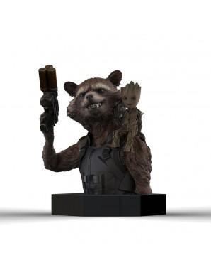Rocket Raccoon & Groot - Les Gardiens de la Galaxie Vol. 2 buste 1/6 16 cm