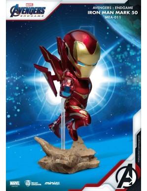 Iron Man - Avengers : Endgame figurine Mini Egg Attack MK50 10 cm
