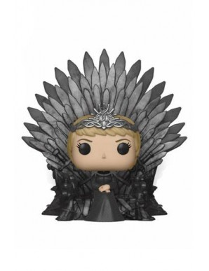 Cersei Lannister on Iron Throne - Game of...