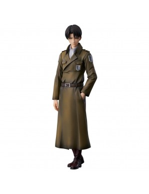 Attack on Titan statuette PVC Levi Coat Style...
