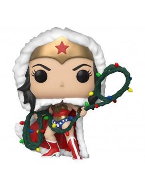 Wonder Woman with String Light Lasso - DC Comics POP! Heroes Vinyl figurine DC Holiday 9 cm