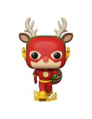 Le Flash comme un élan de Noël - DC Comics POP! Heroes Vinyl figurine DC Holiday 9 cm