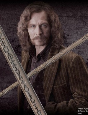 Harry Potter replica wand from Sirius Black (character edition)