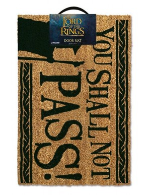 The Lord of The Rings - Doormat -  You Shall...