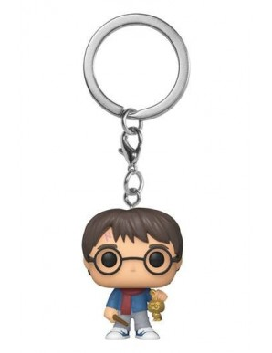 Harry Potter Keychain Pocket POP! Vinyl Holiday Harry Potter 4 cm