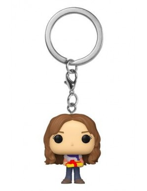 Hermione porte-clés Pocket POP! Vinyl Holiday Harry Potter 4 cm