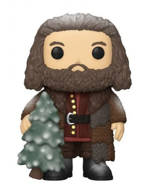 Rubeus Hagrid - Harry Potter Figurine Super Sized POP! Vinyl Holiday  9 cm