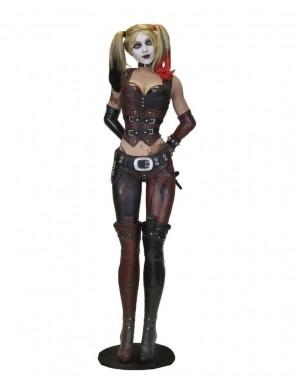 Harley Quinn réplique 1/1 Batman Arkham City (mousse/latex) 180 cm