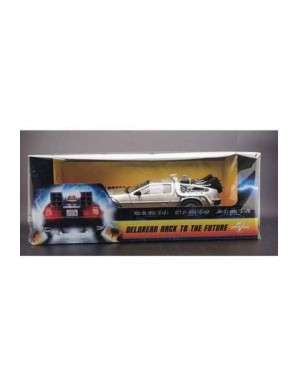 Back to the future 1983 DeLorean 1/18 metal