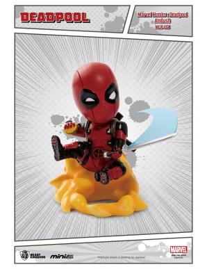 Deadpool Ambush - Marvel Comics figurine Mini Egg Attack  9 cm