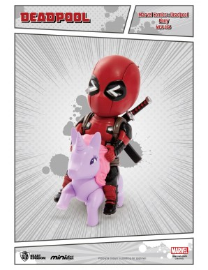 Deadpool Pony - Marvel Comics figurine Mini Egg...
