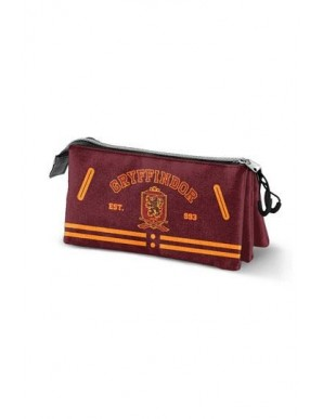 Harry Potter trousse Gryffindor Logo Triple