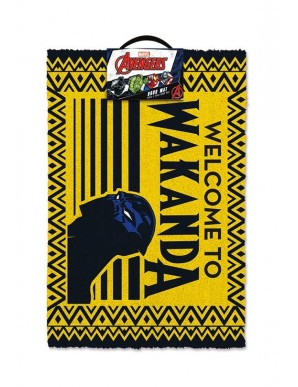 Black Panther Welcome to Wakanda doormat 40 x...