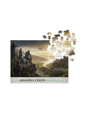 Assassin's Creed Valhalla puzzle Raid Planning...