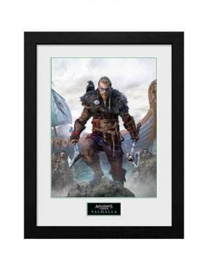 Assassins Creed Valhalla poster encadré Collector Print Standard Edition