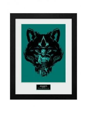 Assassins Creed Valhalla poster encadré Collector Print Loup