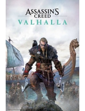 Assassins Creed Valhalla poster Standard...