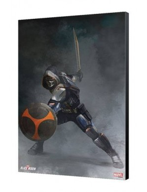 Black Widow Movie wooden board Taskmaster...