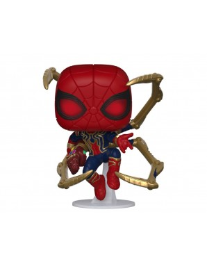 Avengers: Endgame POP! Movies Vinyl figurine Iron Spider avec Nano Gauntlet 9 cm