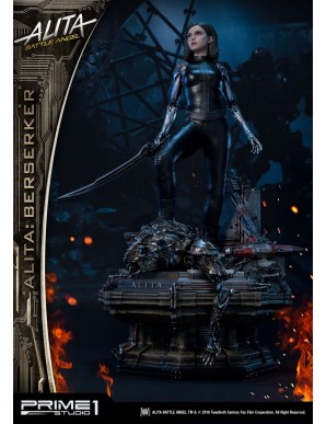 Alita: Battle Angel statuette 1/4 Alita Berserker 64 cm