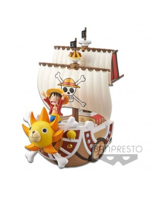 One Piece figurine Mega WCF Thousand Sunny 19 cm