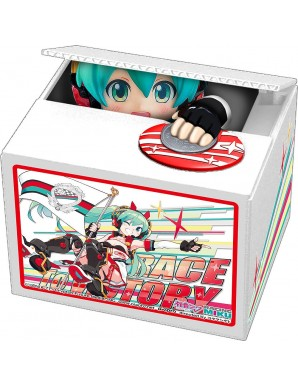 Hatsune Miku GT Project piggy bank PVC Racing...