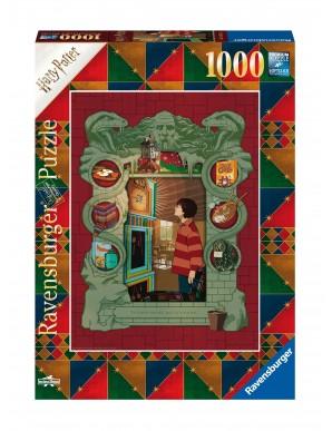 Harry Potter puzzle Chez les Weasley (1000 pièces)