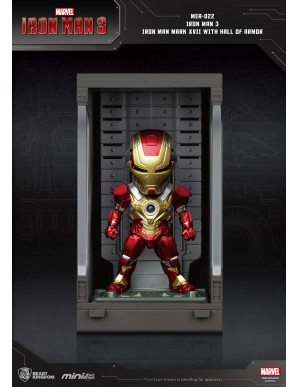 Iron Man 3 Mini Egg Attack figurine Hall of...