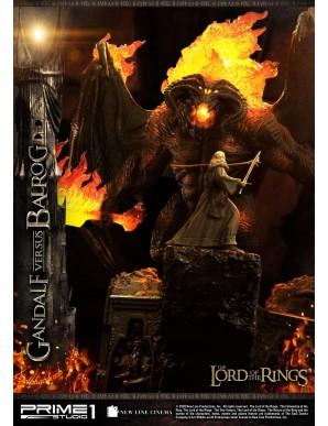 Gandalf Vs. Balrog Le Seigneur des Anneaux statuette