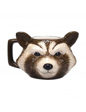 Marvel mug Shaped Rocket