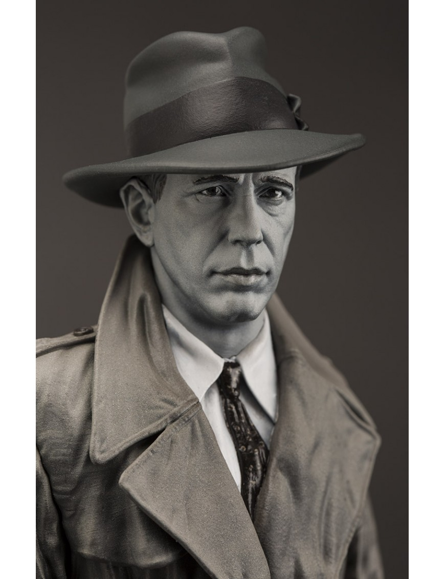 Humphrey Bogart Old Rare Statue