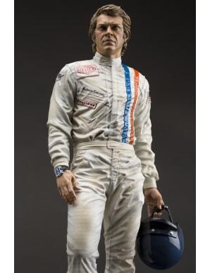 Steve McQueen Old & Rare Statue 31 cm
