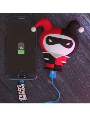 DC Comics Power Bank PowerSquad Harley Quinn...
