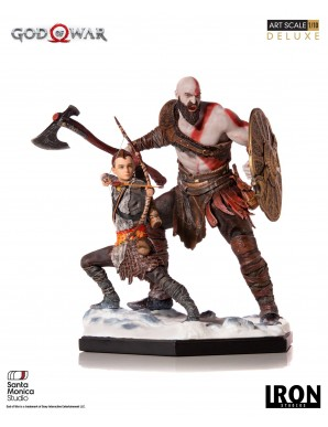 God of War statuette 1/10 Deluxe Art Scale...