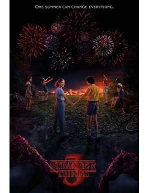 Stranger Things poster One Summer 61 x 91 cm