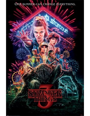 Stranger Things poster Summer of 85