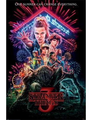 Stranger Things poster Summer of 85