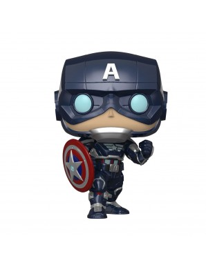 Pop!  Avengers Game - Stark Tech Suit Captain America