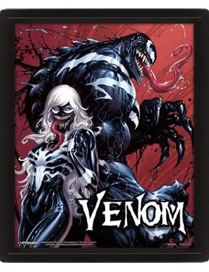 Venom Poster 3D Lenticulaire