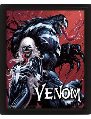 Venom Poster 3D Lenticular